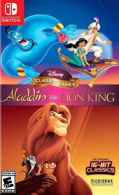 NS 阿拉丁和狮子王 美版