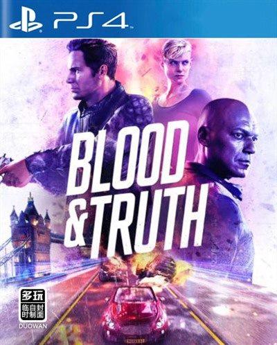 PS4 鲜血与真相 欧版
